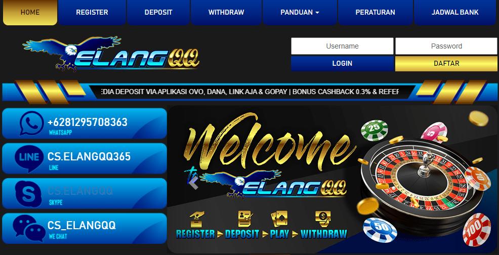 Elangqq Login Daftar Pkv Games