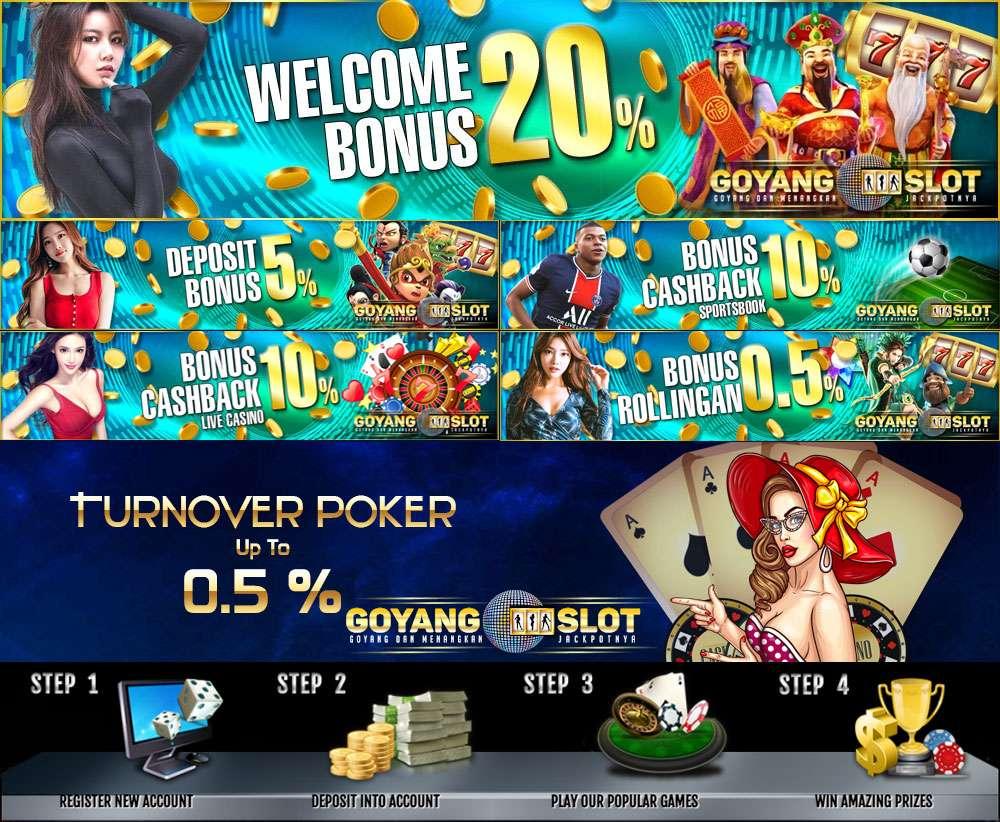 Goyangslot Agen Judi Slot Online Deposit Pulsa Terpercaya Indonesia