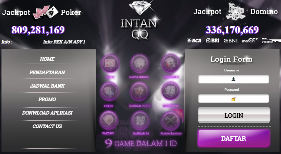 Intanqq Situs Poker Online Pkv Games Qq Terpercaya