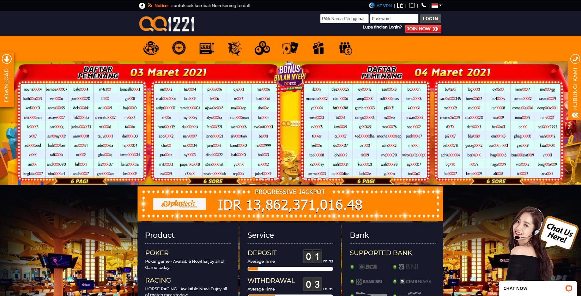 Qq1221 Slot Online Judi Online